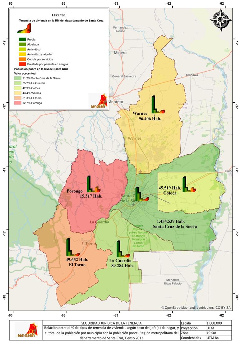 Mapa tenencia RSC